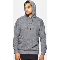 Bluzy męskie: Bluza z kapturem basic – Szary