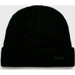 Barts - Czapka. Czarne czapki zimowe męskie marki Barts, z dzianiny. Za 79,90 zł.