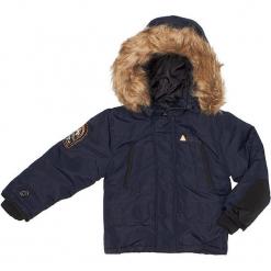 Kurtka zimowa w kolorze granatowym. Niebieskie kurtki chłopięce zimowe marki TXM. W wyprzedaży za 215,95 zł.