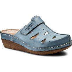 Chodaki damskie: Klapki WALDI - 0610 Jeans