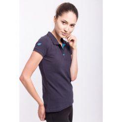 Bluzki sportowe damskie: Koszulka polo damska TSD051AZ – GRANATOWY