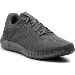 Buty UNDER ARMOUR - Ua Micro G Pursuit 3000011-110 Gry. Szare buty do biegania męskie marki Under Armour, z materiału. W wyprzedaży za 209,00 zł.