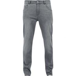 Urban Classics Stretch Denim Pants Jeansy szary. Niebieskie jeansy męskie marki Urban Classics, l, z okrągłym kołnierzem. Za 164,90 zł.