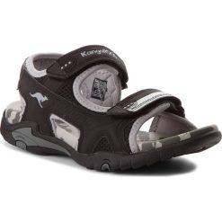 Buty dziecięce: Sandały KANGAROOS – Sinclar II 16023 000 5007 Jet Black/Vapor Grey