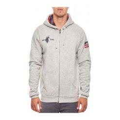 Bejsbolówki męskie: U.S. Polo ASSN Bluza męska Hoody 52191-189 szara r. XL