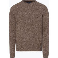 Nils Sundström - Sweter męski, beżowy. Brązowe swetry klasyczne męskie Nils Sundström, m, z dzianiny. Za 179,95 zł.