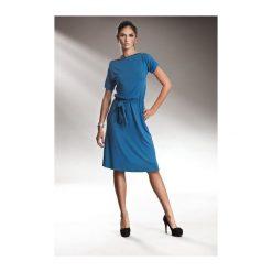 Sukienka Finney s13 Niebieska. Białe sukienki na komunię marki NIFE, eleganckie. Za 122,90 zł.