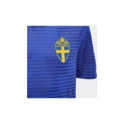 T-shirty z krótkim rękawem Dziecko  adidas  Koszulka wyjazdowa reprezentacji Szwecji. Niebieskie bluzki dziewczęce z krótkim rękawem Adidas. Za 279,00 zł.