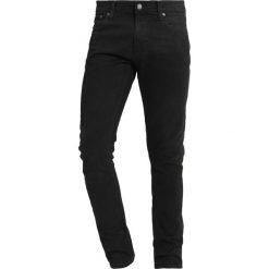 Nudie Jeans TIGHT TERRY Jeans Skinny Fit black dirt. Czarne rurki męskie marki Criminal Damage. Za 539,00 zł.