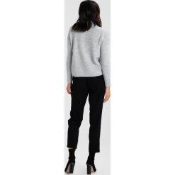 Swetry klasyczne damskie: Miss Selfridge Petite EASY DETAIL HIGH NECK  Sweter grey