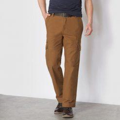 Bojówki męskie: Spodnie cargo z elastycznymi paskami po bokach
