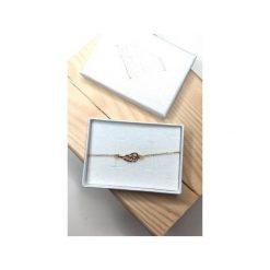 Bransoletki damskie: Srebrna bransoletka skrzydło
