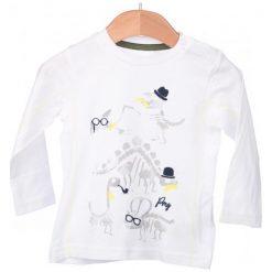 Primigi T-Shirt Chłopięcy 86 Biały. Białe t-shirty chłopięce Primigi. W wyprzedaży za 29,00 zł.