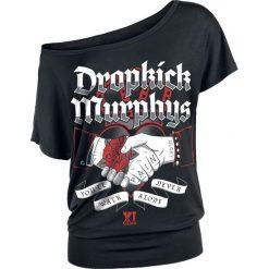 Dropkick Murphys You'll Never Walk Alone Koszulka damska czarny. Czarne bluzki asymetryczne Dropkick Murphys, s. Za 121,90 zł.