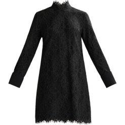 Sukienki: Scotch & Soda HIGH NECKLINE AND CONTRAST CUFFS Sukienka letnia black