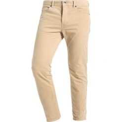 Spodnie męskie: Benetton Spodnie materiałowe beige