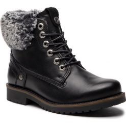 Trapery WRANGLER - Creek Alaska WL182506 Black 62. Czarne buty zimowe damskie Wrangler, z materiału. W wyprzedaży za 309,00 zł.