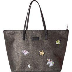 Shopper bag damskie: Shopper bag w kolorze brązowym – 55 x 32 x 18 cm
