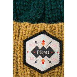 Femi Pleasure - Czapka Faga. Niebieskie czapki zimowe damskie marki WED'ZE, z materiału. W wyprzedaży za 89,90 zł.