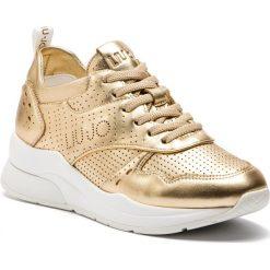 Sneakersy LIU JO - Karlie 14 B19009 P0291 Gold 00529. Żółte sneakersy damskie Liu Jo, z materiału. Za 799,00 zł.