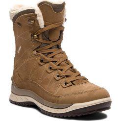 Trekkingi LOWA - Leventina Gtx Mid Ws GORE-TEX 420510 Taupe/Cream 4601. Brązowe buty zimowe damskie Lowa, z gore-texu. W wyprzedaży za 899,00 zł.