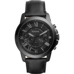 Zegarki męskie: Zegarek FOSSIL – Grant FS5132  Black/Black