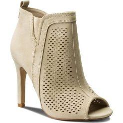 Buty zimowe damskie: Szpilki JENNY FAIRY - WYL1229S-1 Beżowy