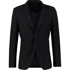 Marynarki męskie slim fit: Sisley Marynarka garniturowa black
