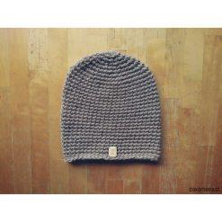 Czapka 65% wełna 35% alpaka #beż. Brązowe czapki zimowe damskie Pakamera, z wełny. Za 132,00 zł.