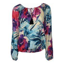 Desigual Bluzka Damska Zazil Xs Wielo Barwny. Szare bluzki asymetryczne Desigual, l, w kolorowe wzory, z materiału. Za 300,00 zł.