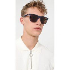 Okulary przeciwsłoneczne męskie: Lacoste Okulary przeciwsłoneczne blue