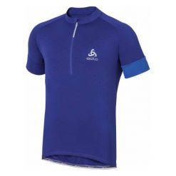 Odlo Koszulka Rowerowa Gavia Indigo Xl. Niebieskie odzież rowerowa męska Odlo, m, z materiału, z krótkim rękawem. W wyprzedaży za 239,00 zł.