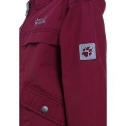 Jack Wolfskin CAMPO ROAD  Parka dark ruby. Czerwone kurtki dziewczęce marki Reserved, z kapturem. Za 379,00 zł.