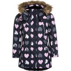 Reima REIMATEC MUHVI Płaszcz zimowy black. Niebieskie kurtki chłopięce marki Reima, z materiału. W wyprzedaży za 471,20 zł.