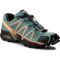 Buty trekkingowe męskie: Buty SALOMON - Speedcross 4 398419 27 V0 North Atlantic/Black/Scarlet Ibis