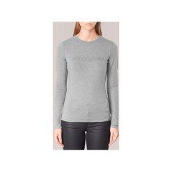 T-shirty z długim rękawem Armani jeans  DRANOZ. Czarne t-shirty damskie marki Armani Jeans, z jeansu. Za 335,20 zł.