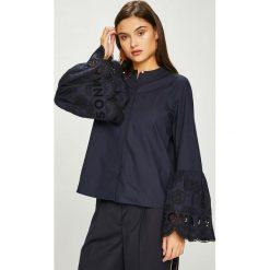 Scotch & Soda - Koszula. Czarne koszule damskie marki Scotch & Soda, l, z haftami, z bawełny, casualowe, z długim rękawem. W wyprzedaży za 479,90 zł.