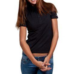 T-shirty damskie: Koszulka polo w kolorze czarnym