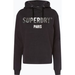 Superdry - Damska bluza nierozpinana, szary. Szare bluzy sportowe damskie marki Superdry, l, z nadrukiem, z bawełny, z okrągłym kołnierzem. Za 299,95 zł.