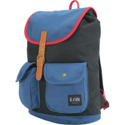 Plecaki męskie: Plecak w kolorze czarno-niebieskim – 31 x 40 x 16 cm