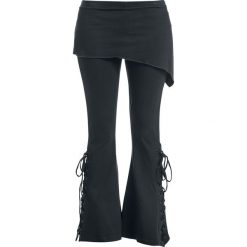 Spiral Boot-Cut Legginsy czarny. Czarne legginsy Spiral, l. Za 121,90 zł.