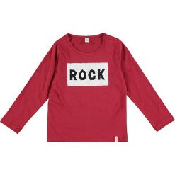 Bluzki dziewczęce: Koszulka w kolorze jagodowym