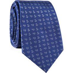 Krawat KWGR001859. Białe krawaty męskie Giacomo Conti, z mikrofibry. Za 69,00 zł.