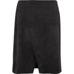 Spódniczki: CeHCe Spódnica z zakładką schwarz