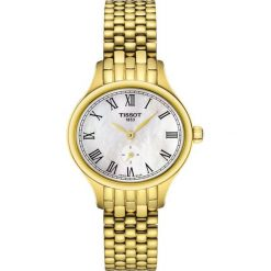 PROMOCJA ZEGAREK TISSOT Bella Ora Small Lady T103.110.33.113.00. Białe zegarki damskie TISSOT, ze stali. W wyprzedaży za 1760,00 zł.