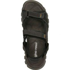Sandały CREE. Czarne sandały męskie skórzane Gino Rossi, na rzepy. Za 99,90 zł.
