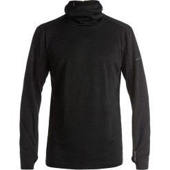 """Sweter """"Log"""" w kolorze antracytowym. Niebieskie golfy męskie marki Quiksilver, l, narciarskie. W wyprzedaży za 260,95 zł."""