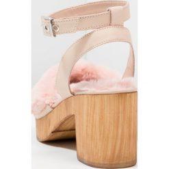 Rzymianki damskie: Topshop VINNIE Sandały na platformie pink