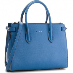 Torebka FURLA - Pin 963105 B BLS1 OAS Genziana e. Niebieskie torebki klasyczne damskie marki Furla, ze skóry. Za 1179,00 zł.