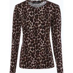 Weekend MaxMara - Damska koszulka z długim rękawem, czarny. Czarne t-shirty damskie WEEKEND MaxMara, l, z aplikacjami, z wełny. Za 449,95 zł.
